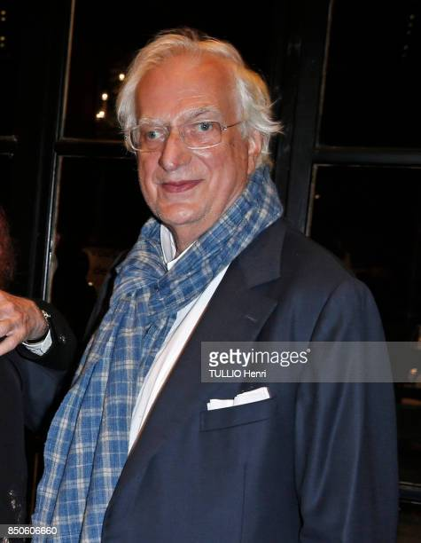 at the evening gala for the 43th American Film Festival Bertrand Tavernier is photographed for Paris Match on september 01 2017 in Deauville France