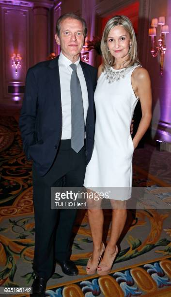 at the evening gala for the first edition of the 'Les Stéthos d'Or' awards for the benefit of the Foundation for Research in Physiology Frederic...