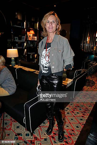 at the evening gala for the opening of the Roch Hotel Spa decorated by Sarah Lavoine Virginie CouperieEiffel poses for Paris Match on september 15...