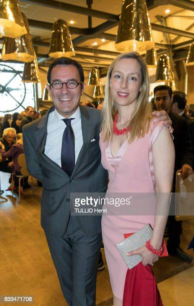 at the evening gala of Des Amis du Musee d'Orsay et de l'Orangerie Olivier Josse and Adelaide de ClermontTonnerre on june 19 2017 in Paris France