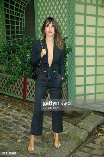 at the evening of the jeweler Chaumet Jeanne Damas on july 02 2017 in Paris France