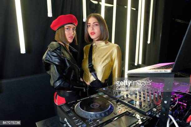 DJ at the exclusive New Look and British Fashion Council party launching London Fashion Week September 2017 at The Store Studios on September 14 2017...