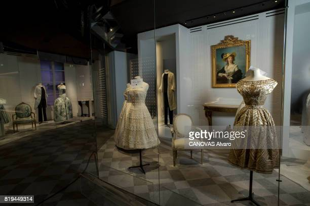 at the exhibition 'Christian Dior Celebrates 70 Years of Creation' at the Musee des Arts the dress on june 28 2017 in Paris France Photo by Alvaro...