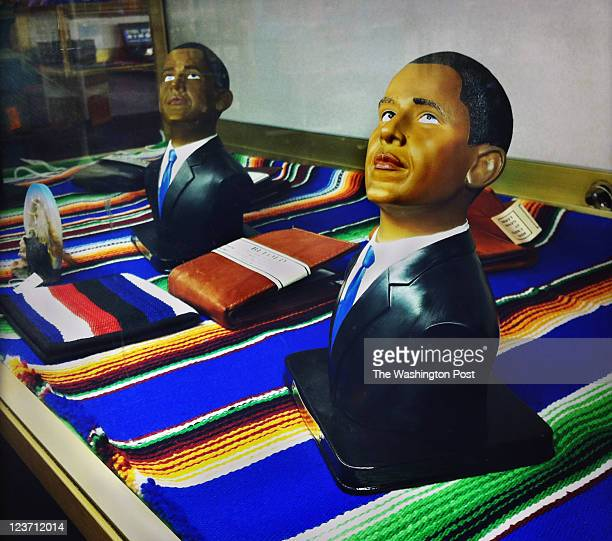 At the famed 'South of the Border' tourist stop on the North Carolina/South Carolina border they sell President Obama figurines It's not a big seller...