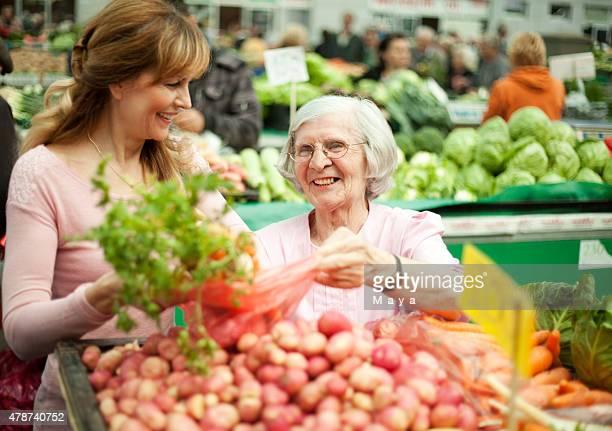 Au the farmer's market