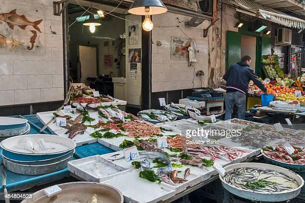 At the fishmongers