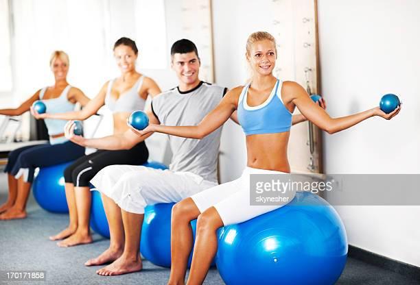 Im fitness-club