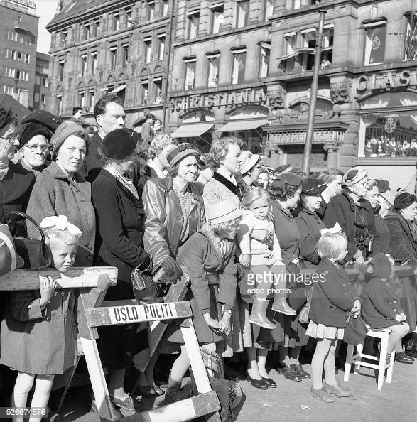At The Funeral Of King Haakon VII Norway 1872 1957 In Oslo On October 2 Pictures