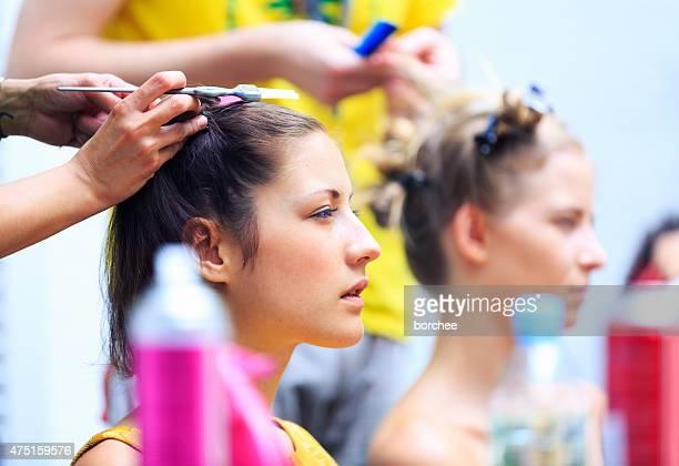 Presso il parrucchiere