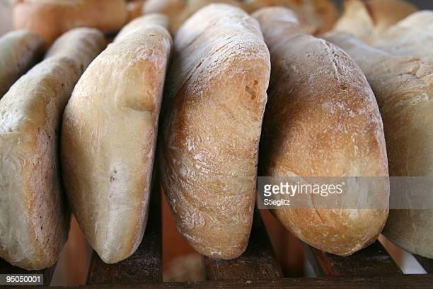 at the market: artisan bread