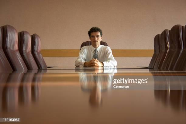 Am Konferenztisch