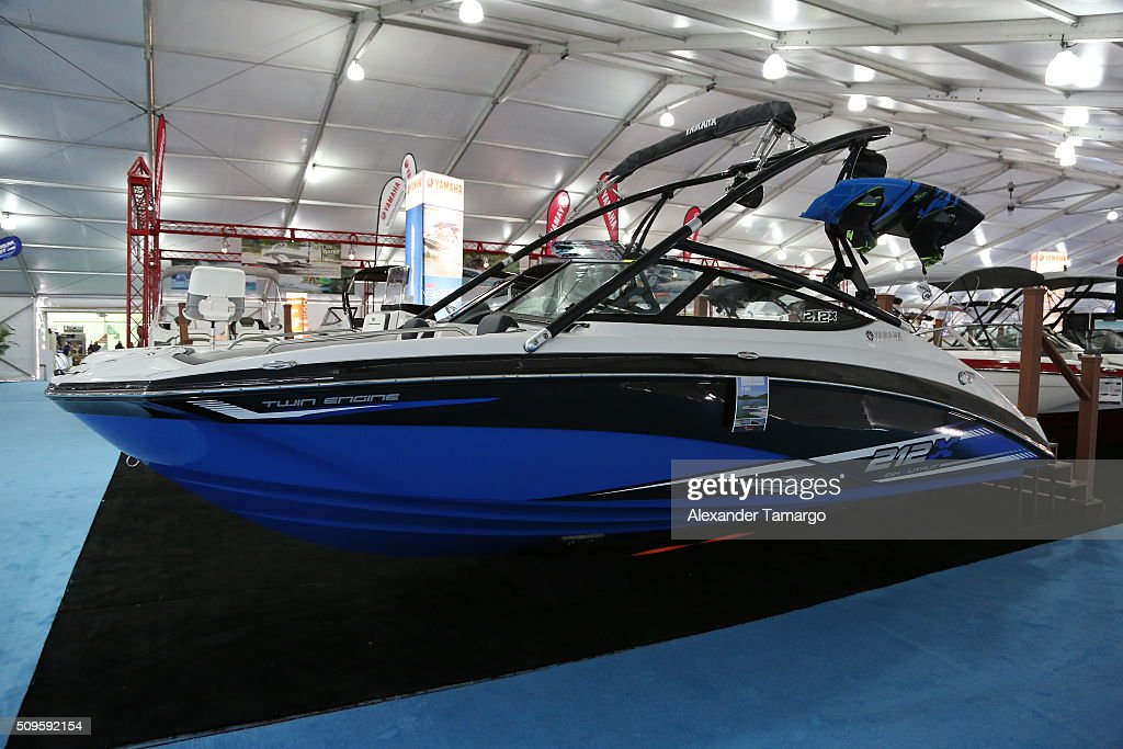 212 X at the Miami International Boat Show on February 11, 2016 in Miami, Florida.