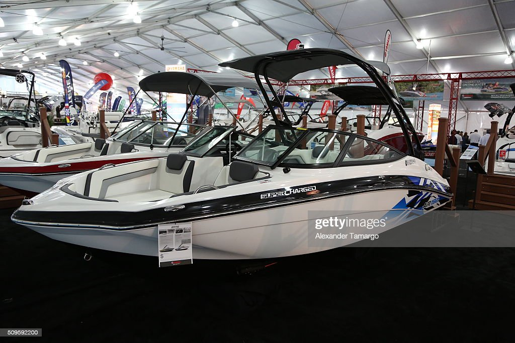 AR192 at the Miami International Boat Show on February 11, 2016 in Miami, Florida.