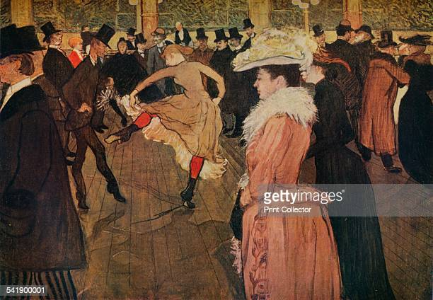 'At the Moulin Rouge the Dance' 1890 From The Studio Volume 107 [The Offices of the Studio Ltd London 1934]Artist Henri de ToulouseLautrec