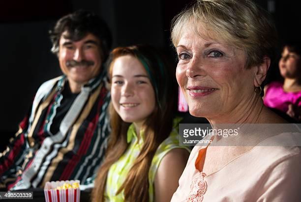 Au cinéma avec les grands-parents