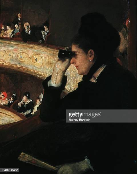 At the Opera by Mary Cassatt
