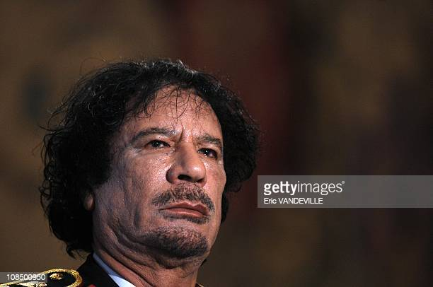 At the Quirinale Palace Libyan leader Moammar Gadhafi has hailed a 'new era' in relations with Italy during his first visit to his country's former...