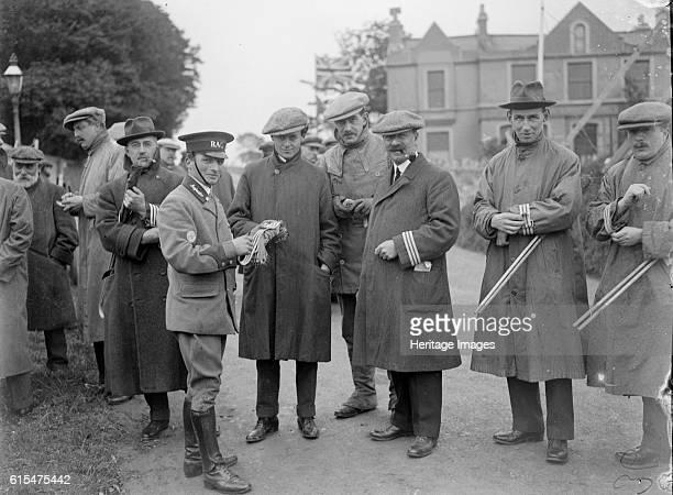 At the RAC TT race Isle of Man 10 June 1914 Artist Bill Brunell