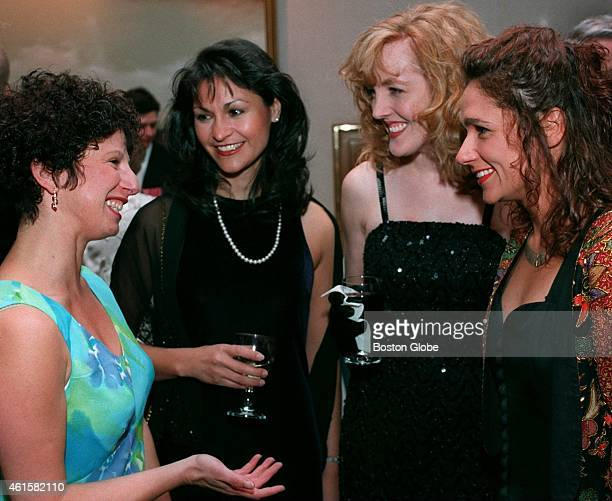 At the Springtime 1997 Gala for the Cardinal Cushing School are Debra Canner of Newton Belinda Herrera of Boston Judy Ozbun of Boston and Phaedra...
