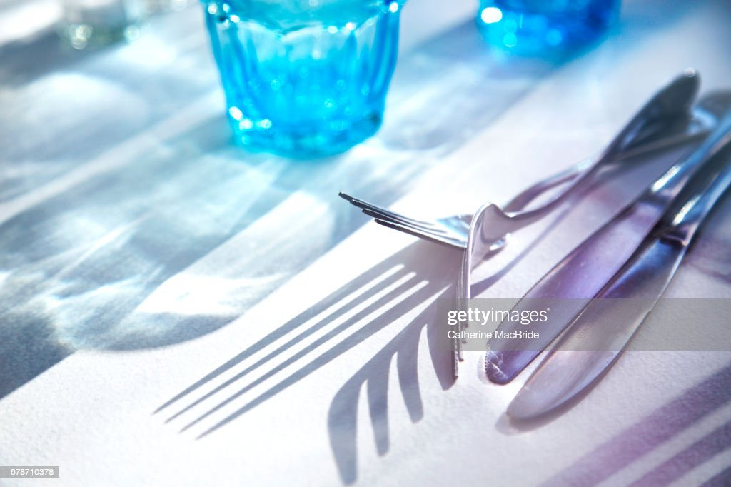 At the Table : Stock Photo