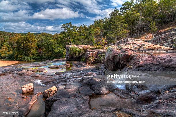At the Top of Rocky Falls