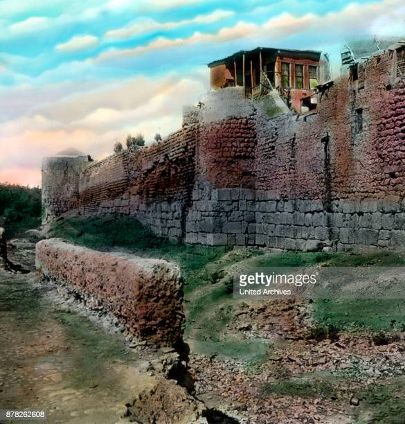 At this point of the ancient Damascus city wall Saul had changed to Paul 1920s