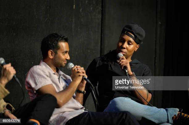 NONE 'FYC at UCB' Pictured Aziz Ansari Lena Waithe