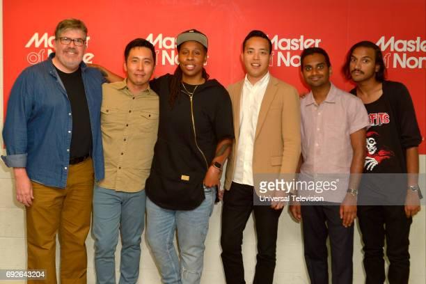 NONE 'FYC at UCB' Pictured Jim Halterman Moderator Kelvin Yu 'Brian' Lena Waithe Writer / 'Denise' Alan Yang CoCreator Aziz Ansari CoCreator / 'Dev'...