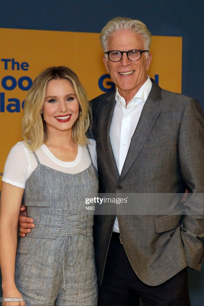 PLACE -- 'FYC at UCB' -- Pictured: (l-r) Kristen Bell, Ted Danson --