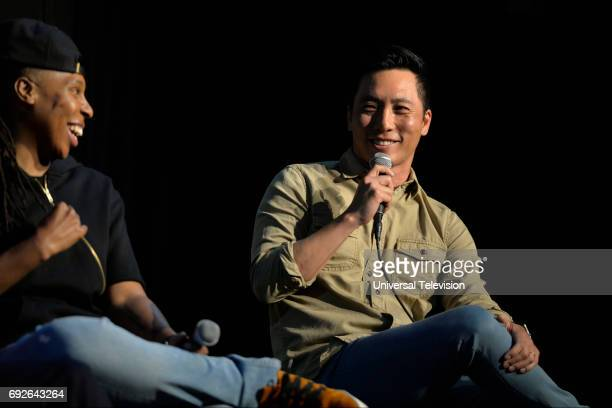 NONE 'FYC at UCB' Pictured Lena Waithe Kelvin Yu