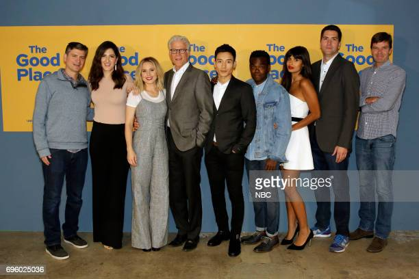 PLACE 'FYC at UCB' Pictured Michael Schur Executive Producer D'Arcy Carden Kristen Bell Ted Danson Manny Jacinto William Jackson Harper Jameela Jamil...