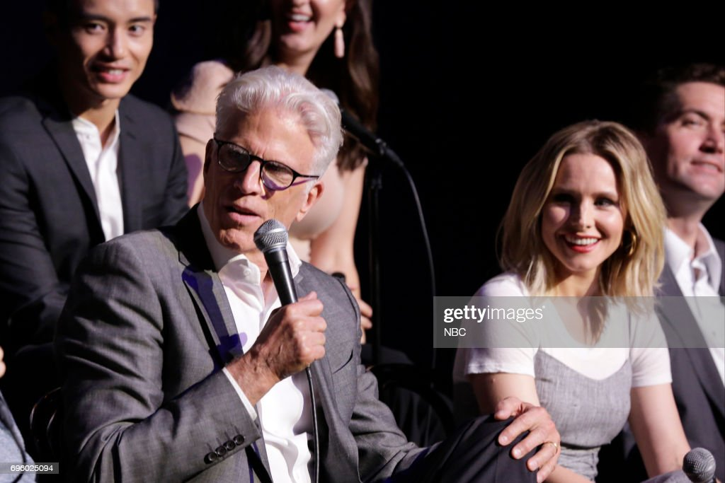 PLACE -- 'FYC at UCB' -- Pictured: (l-r) Ted Danson, Kristen Bell --