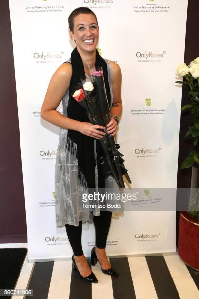 CEO at United Friends of the Children Kara Allen Soldati attends the Tracy Paul Company for Only Roses Launch Beverly Hills on October 12 2017 in Los...