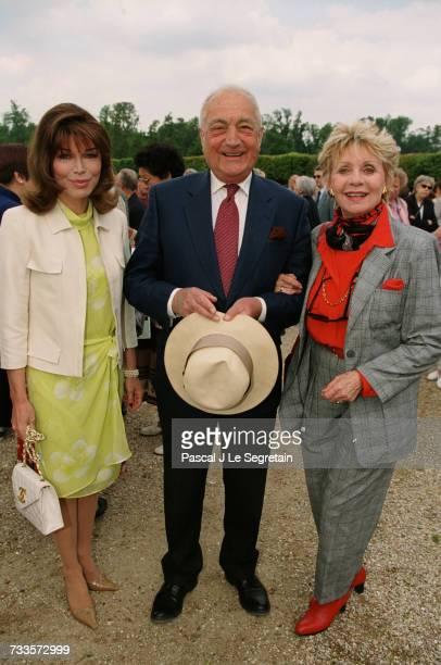 At Versaille Karen Cheryl Bernard de la Rochefoucauld and Annie Cordy