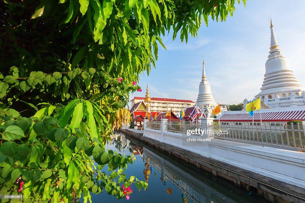 at Wat Phichaiyat Worawihan in Bangkok, Thailand : Stock Photo