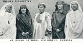 At Welsh National Eisteddfod Swansea' 1937 The Duke and Duchess of York were initiated into the fraternity of the Gorsedd of Bards on 3 August 1926...