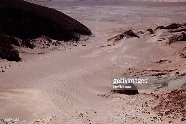 Atacama Desert landscape.