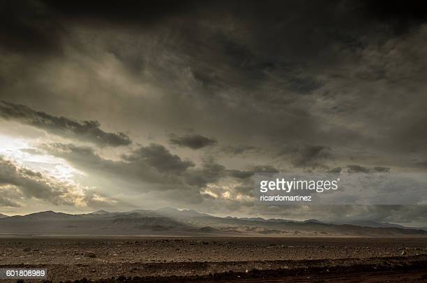Atacama desert near Calama City, Chile