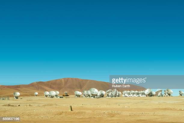 Atacama Radio Telescopes landscape