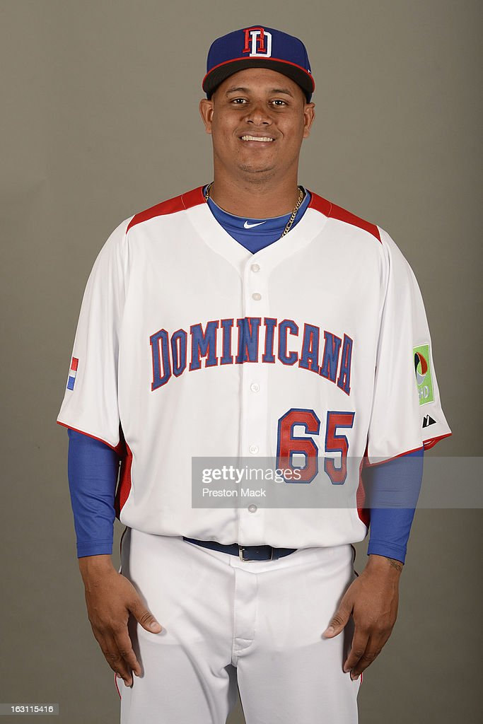 Atahualpa Severino #65 of Team Dominican Republic poses for a headshot for the 2013 World Baseball Classic on March 4, 2013 at George M. Steinbrenner Field in Tampa, Florida.