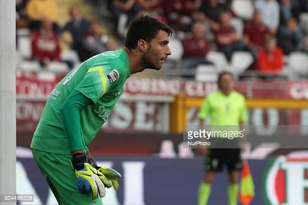 Atalanta goalkeeper Marco Sportiello during the Serie A football match n10 TORINO ATALANTA on 02/11/14 at the Stadio Olimpico in Turin Italy Matteo...