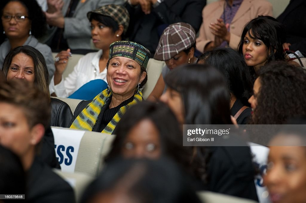 Atallah Shabazz attends the 9th Annual NAACP Hollywood Bureau Symposium at Museum Of Tolerance on January 29, 2013 in Los Angeles, California.