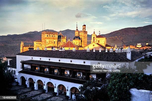 Atardecer en Guadalupe. Cáceres. Spain
