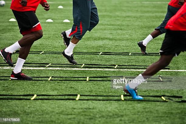 Athelete training für Fußball