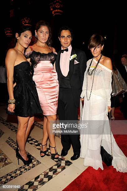 Athena Calderone Stella Schnabel Zac Posen and Jenne Lombardo attend NEW YORKERS FOR CHILDREN Fall 2008 Gala at Cipriani 42nd St on September 16 2008...