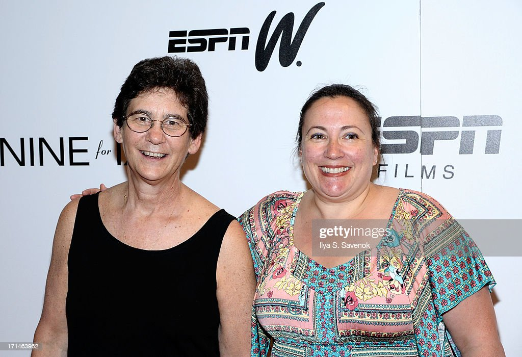 Athena Film Festival co-founders Kathryn Kolbert (L) and Melissa Silverstein attend 'Venus Vs.' and 'Coach' New York Special Screenings at Paley Center For Media on June 24, 2013 in New York City.