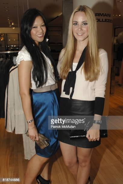 Athena Liu and Elizabeth Grimaldi Kurpis attend HAVAIANAS GQ Magazine host the launch party for Havaianas Team Sandals at Barneys New York on June 10...