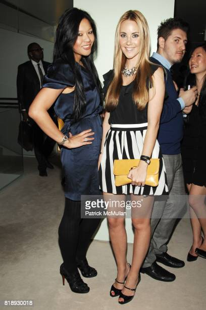 Athena Liu and Elizabeth Grimaldi Kurpis attend PRADA NEW YORKERS FOR CHILDREN Host Cocktails for the NYFC 2010 Fall Gala at Prada Boutique on May 20...