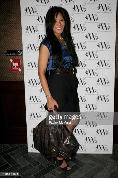 Athena Liu attends QUEST MAGAZINE What2WearWherecom hosts a soft launch of LAVO at 38 E 58th St on September 9 2010 in New York City