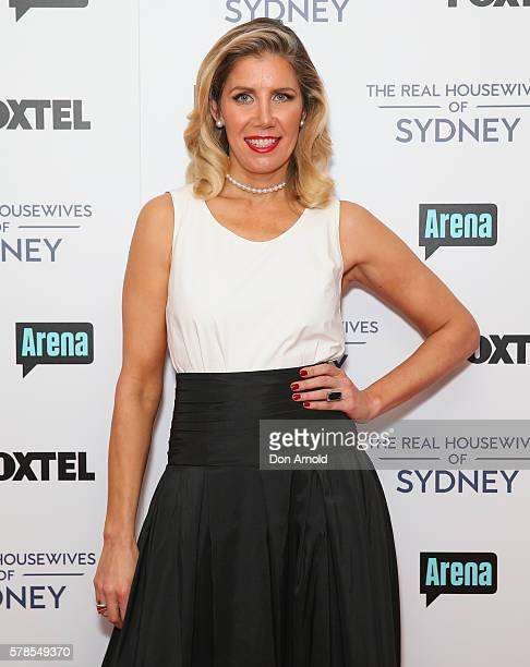 AthenaX Levendi poses during a media call to announce the cast of The Real Housewives of Sydney at the Park Hyatt on July 22 2016 in Sydney Australia